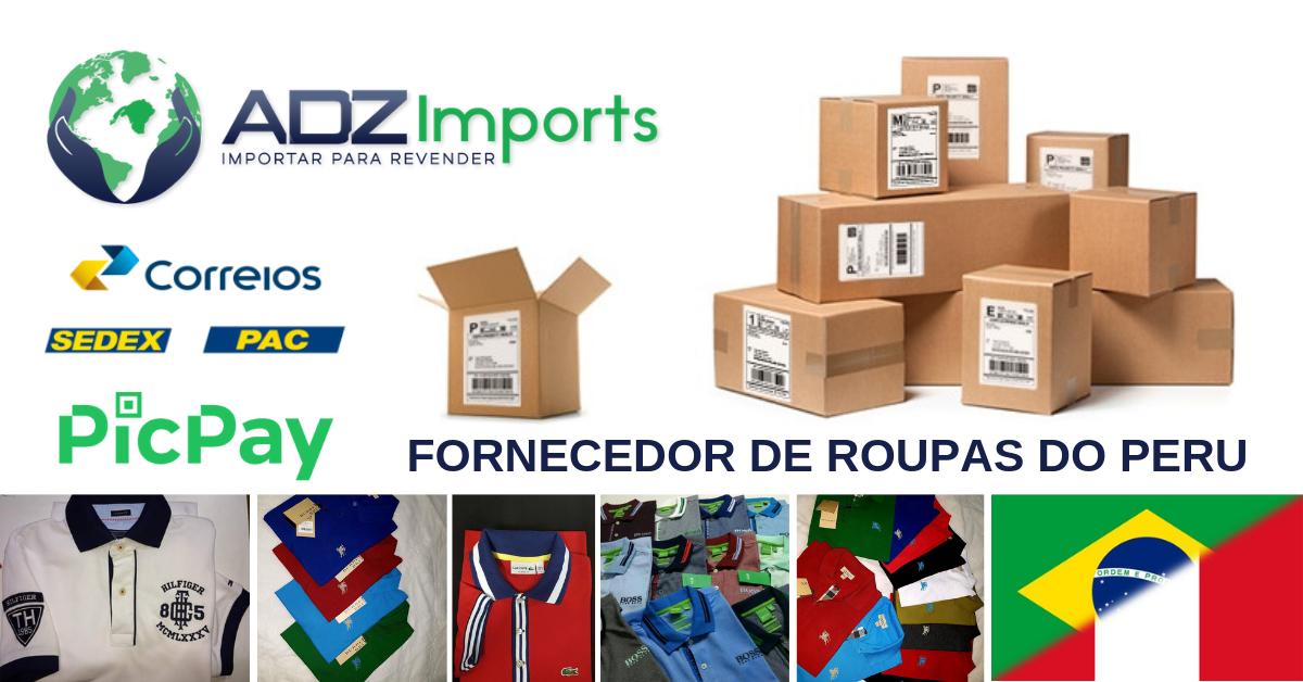 00128a5d4 Fornecedor de Roupas do Peru - Informações Gerais - ADZ Imports - Como  importar para revender